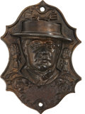 Political:3D & Other Display (pre-1896), Horace Greeley: Iron Match Holder....
