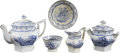 Political:3D & Other Display (pre-1896), William Henry Harrison: A Child's Tea Set In the Columbia Star Pattern, From the 1840 Campaign. ... (Total: 5 Items)