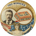 Political:Advertising, Theodore Roosevelt: A Choice Example of the Popular Zigzag CandyAdvertising Clicker....