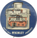 "Political:Pinback Buttons (1896-present), William McKinley: The Classic ""Factory Pin"" Rarity. ..."