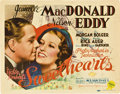 """Movie Posters:Musical, Jeanette MacDonald and Nelson Eddy Lot (MGM, 1938). Title Lobby Cards (2) (11"""" X 14"""").. ... (Total: 2 Items)"""