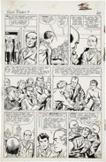 Original Comic Art:Panel Pages, Jack Kirby and George Roussos Sgt. Fury #7, page 16 OriginalArt (Marvel, 1964). . ...