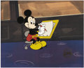Animation Art:Production Drawing, Mickey Mouse Animation Gallery Limited Edition Serigraph Cel(Disney, 1989)....