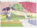 Animation Art:Production Drawing, Bugs Bunny Animation Production Cel Original Art (Warner Bros.,circa 1950s)....
