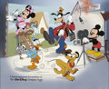 Animation Art:Production Drawing, Disney CalArts Limited Edition Serigraph Cel (Disney, circa1990)....