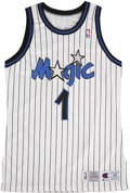 Basketball Collectibles:Uniforms, Penny Hardaway Game Used Orlando Magic Jersey....