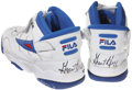 Basketball Collectibles:Uniforms, Grant Hill Signed Game Used Shoes. ...
