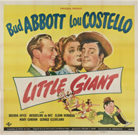 "Little Giant (Universal, 1946). Six Sheet (81"" X 81"")"