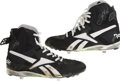 Baseball Collectibles:Others, Frank Thomas Signed Game Used Cleats. ...