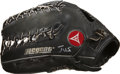 Baseball Collectibles:Others, David Justice Signed Game Used Glove. ...