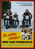 "Movie Posters:Cult Classic, Hells Angels on Wheels (Constantin-Film, 1967). German A1 (23"" X33""). Cult Classic.. ..."
