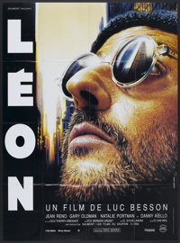 """The Professional (Columbia, 1994). French Grande (45"""" X 62""""). Thriller"""