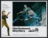 """Dirty Harry (Warner Brothers, 1971). Lobby Cards (2) (11"""" X 14""""). Crime. ... (Total: 2 Items)"""