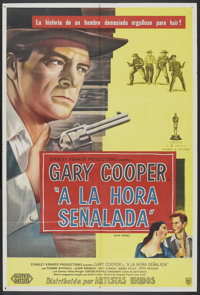 """High Noon (United Artists, 1952). Argentinean Poster (29"""" X 43""""). Western"""