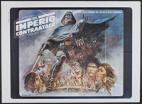 "The Empire Strikes Back (20th Century Fox, 1980). Argentinean Two Sheet (45.25"" X 58""). Science Fiction"