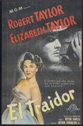 "Movie Posters:Adventure, Conspirator (MGM, 1949). Argentinean Poster (26.5"" X 40.5"").Adventure.. ..."