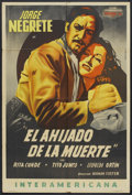 "Movie Posters:Adventure, El Ahijado de la muerte (Clasa-Mohme Inc., 1946). ArgentineanPoster (29"" X 43""). Adventure.. ..."