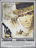 """Movie Posters:Drama, The Treasure of the Sierra Madre (Warner Brothers, R-1977). French Grande (45.5"""" X 61""""). Drama.. ..."""