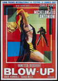 "Movie Posters:Thriller, Blow-Up (MGM, 1967). Italian 4 - Folio (55"" X 78""). Thriller.. ..."