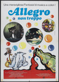 "Movie Posters:Animated, Allegro non troppo (Roxy International, 1977). Italian 2 - Folio (39"" X 55""). Animated.. ..."