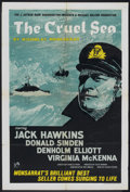 "Movie Posters:War, The Cruel Sea (Rank, 1953). British One Sheet (27"" X 40""). War....."