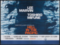 "Movie Posters:War, Hell in the Pacific (Cinerama Releasing, 1968). British Quad (29.5""X 40""). War.. ..."