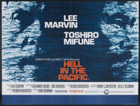 """Hell in the Pacific (Cinerama Releasing, 1968). British Quad (29.5"""" X 40""""). War"""