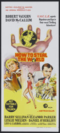 "Movie Posters:Adventure, How to Steal the World (MGM, 1968). Australian Daybill (13"" X 30"").Adventure.. ..."