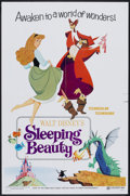 "Movie Posters:Animated, Sleeping Beauty (Buena Vista, R-1970). One Sheet (27"" X 41"") StyleB. Animated.. ..."