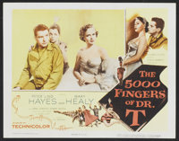 """The 5000 Fingers of Dr. T (Columbia, 1953). Lobby Card (11"""" X 14""""). Fantasy"""