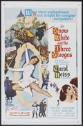 "Movie Posters:Comedy, Snow White and the Three Stooges (20th Century Fox, 1961). One Sheet (27"" X 41""). Comedy.. ..."