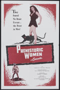 "Movie Posters:Adventure, Prehistoric Women (Alliance, R-1957). One Sheet (27"" X 41"").Adventure.. ..."