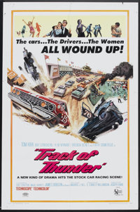 """Track of Thunder (United Artists, 1967). One Sheet (27"""" X 41""""). Action"""
