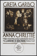 "Movie Posters:Drama, Anna Christie (MGM, 1930). Rotogravure One Sheet (28"" X 42"").Drama.. ..."