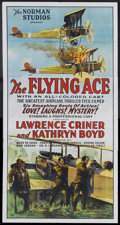 """Movie Posters:Black Films, The Flying Ace (Norman, 1926). Three Sheet (41"""" X 81""""). BlackFilms.. ..."""