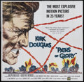 "Movie Posters:War, Paths of Glory (United Artists, 1958). Six Sheet (81"" X 81""). War....."