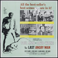 "The Last Angry Man (Columbia, 1959). Six Sheet (81"" X 81""). Drama"