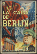 "Movie Posters:Documentary, Berlin (Artkino, 1945). Argentinean Poster (29"" X 43""). Documentary.. ..."