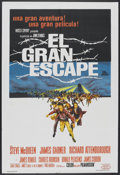 "Movie Posters:War, The Great Escape (United Artists, 1963). Argentinean Poster (29"" X43""). War.. ..."
