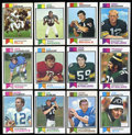 Football Cards:Sets, 1973 Topps Football Complete Set (528). ...
