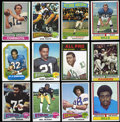 Football Cards:Sets, 1974 Topps (429/528) and 1975 Topps (421/528) Football Partial Sets. ... (Total: 2 sets)
