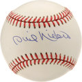 Autographs:Baseballs, Phil Niekro Single Signed Baseball. Exceptionally clean ONL(Coleman) baseball sports an equally impressive sweet spot sign...