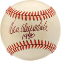 "Autographs:Baseballs, Don Drysdale ""1990"" Single Signed Baseball. One of the moreimposing hurlers in the history of the majors has left his Hall..."