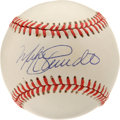 Autographs:Baseballs, Mike Schmidt Single Signed Baseball. Besides being the premier NLslugger of his day, the Phillies hero Mike Schmidt also f...