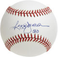 "Autographs:Baseballs, Reggie Jackson ""563"" Single Signed Baseball. Adding to theselection of top-notch 500 Home Run Club singles, this unimprova..."