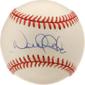 Autographs:Baseballs, Derek Jeter Single Signed Baseball. The most talented man inbaseball today has left his coveted signature dead on the swee...