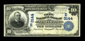 National Bank Notes:Pennsylvania, Susquehanna, PA - $10 1902 Plain Back Fr. 624 The City NB Ch. #(E)3144. ...