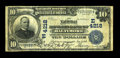 National Bank Notes:Maryland, Baltimore, MD - $10 1902 Date Back Fr. 619 The National Howard BankCh. # (E)4218. ...