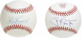 Autographs:Baseballs, Tony Gwynn and Ken Griffey, Jr. Single Signed Baseballs Lot of 2.Two of the premier Major Leaguers of the past thirty year...