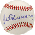 Autographs:Baseballs, Ted Williams Single Signed Baseball. Few singles have the appeal ofthe current offering -- a perfect Ted Williams signatur...